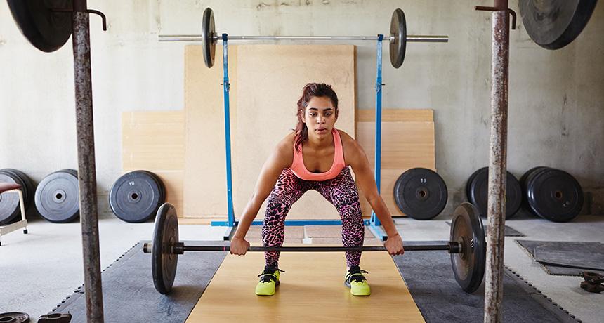 weightlifting women